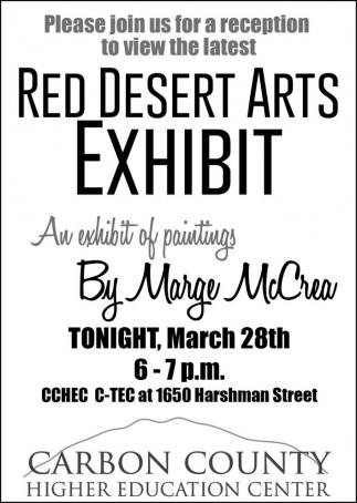 Red Desert Arts Exhibit