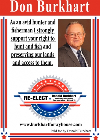 Re-Elect Don Burkhart