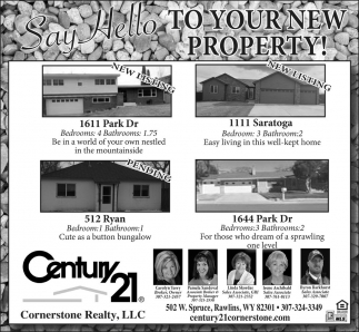 Say Hello To Your New Property!