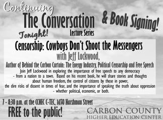 Continuing The Conversation & Book Signing!