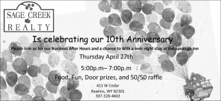 Is celebrating our 10th anniversary
