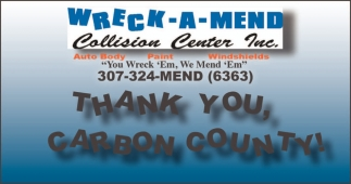 Thank you, Carbon County!