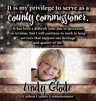 It is my privilege to serve as a county commissioner